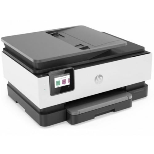 HP - Multifunción OfficeJet Pro 8024 - Inyección de tinta color - 20 ppm B/N - 10 ppm (color) - 1200 × 1200 ppp - Fax - E-Print - LAN - Wifi - Duplex