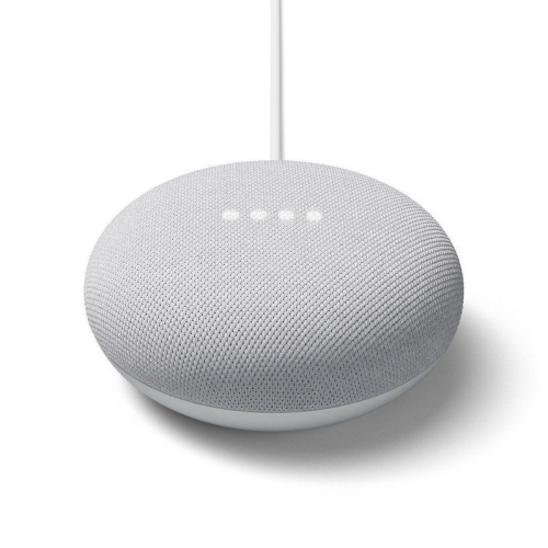 Google Nest Mini - 2ª generación - 3 micrófonos - Wifi AC - Color tiza