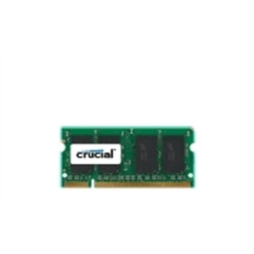 Crucial 2GB, 200-pin SODIMM, DDR2