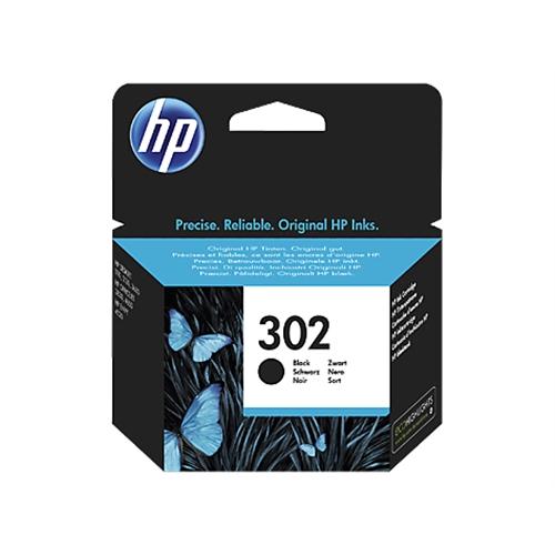 HP 302 cartucho de tinta 1 pieza(s) Original Rendimiento estándar Negro