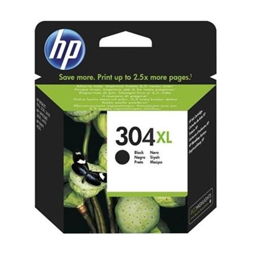 HP 304XL cartucho de tinta Original Alto rendimiento (XL) Negro