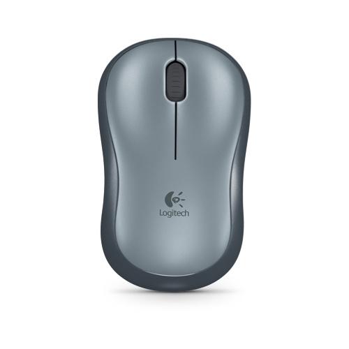 Logitech Wireless Mouse M185 - Ratón - inalámbrico - 2.4 GHz - receptor inalámbrico USB - Gris