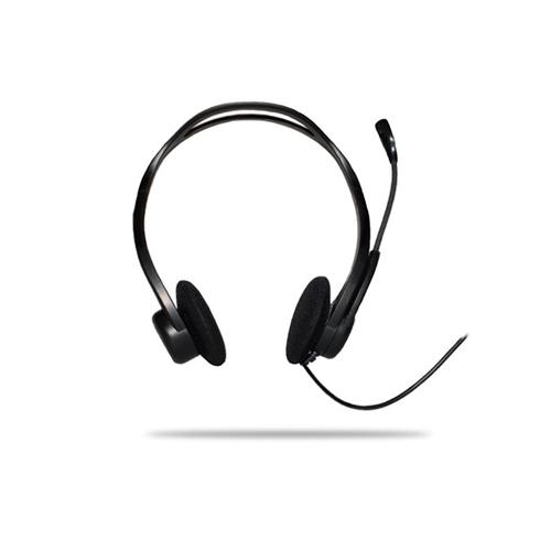 Logitech PC Headset 960 USB - Casco con auriculares ( semiabierto )