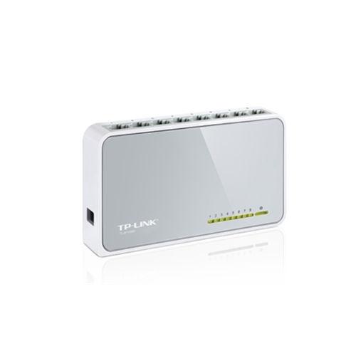 TPLINK - Switch 8P 10/100 Mbps TPLink TL SF1008D tamaño mini
