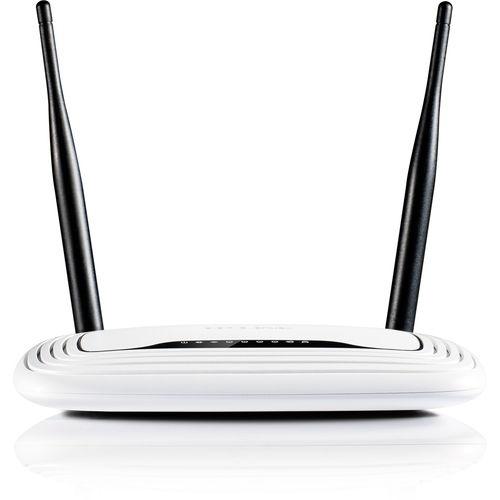TPLINK TL-WR841N - Router inalámbrico neutro - conmutador de 4 puertos - 802.11b/g/n 300 Mbps - sobremesa - 2 antenas fijas