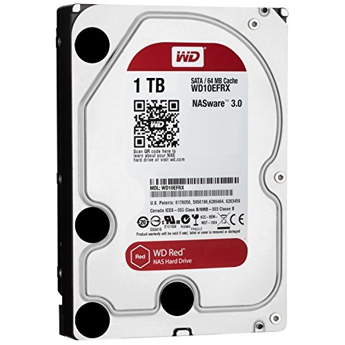 WD Red NAS - WD10EFRX - Disco duro - 1 TB - interno - 3.5