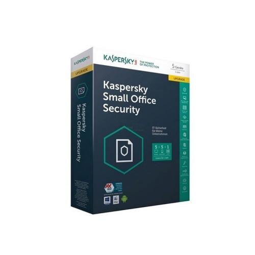Kaspersky Small Office Security v5 - ( 1 año ) - 1 servidor de archivos, 5 PC - Win