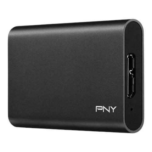 PNY - Disco Duro SSD Externo Elite - USB 3.1 -  480GB - 430Mb/s
