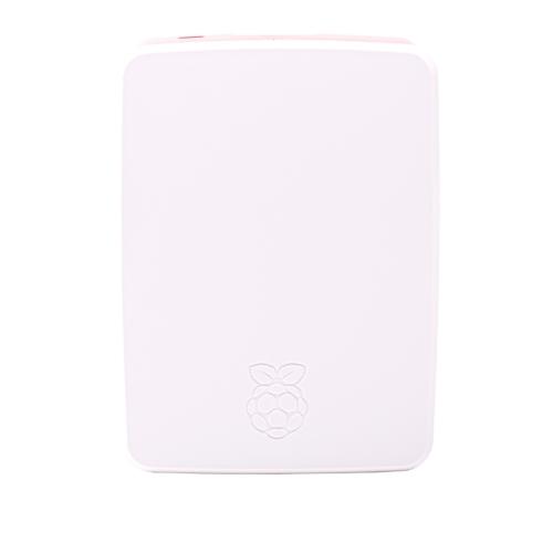 Raspberry caja oficial para Pi 4 - Color rojo/blanco