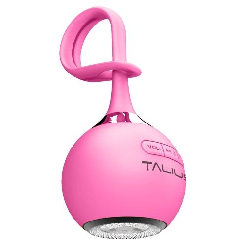Talius - Altavoz portatil Drop - Bluetooth - 3W - MicroSD - Bateria 400mAh - 4h atonomía - Rosa