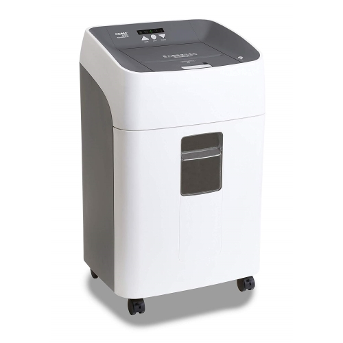 Destructora DAHLE Automática ShredMATIC 314 - 14-300 hojas, Patículas 4x15 mm, nivel seguridad P4, entrada 220 mm, 40 litros. Dimens.642x432x355mm