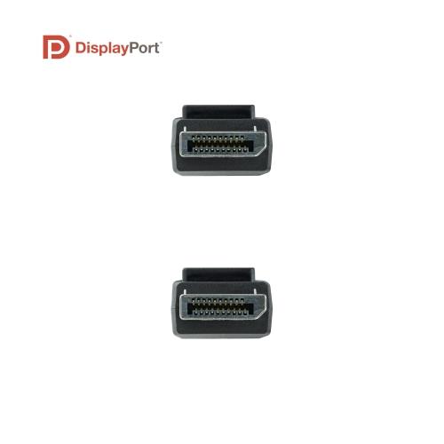Nanocable - Cable DisplayPort 1.4 Certificado VESA DP/M-DP/M - Negro - 2.0m