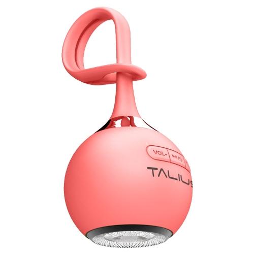 Talius - Altavoz portatil Drop - Bluetooth - 3W - MicroSD - Bateria 400mAh - 4h atonomía - Rojo