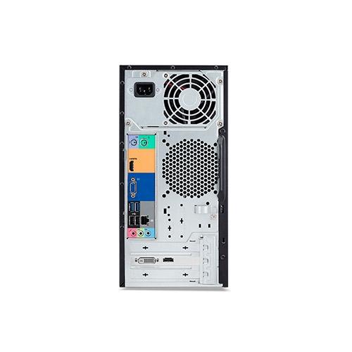 Acer Veriton Essential S2710G - MT - 1 x Core i3 7100 / 3.9 GHz - RAM 4 GB - HDD 1 TB - grabadora de DVD - HD Graphics 630 - GigE - Win 10 Pro 64 bits - monitor: ninguno
