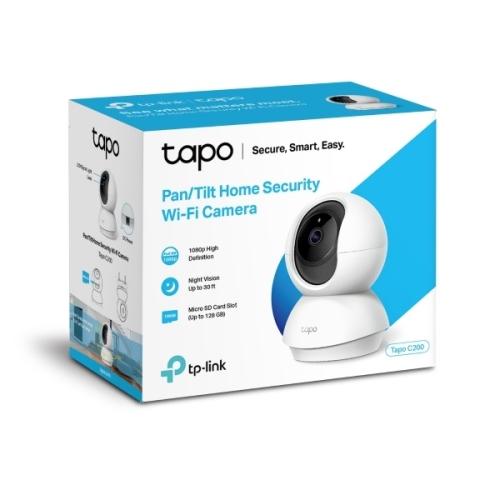 Tp-Link - Cámara Wifi Tapo C200 Fullhd - Seguimiento movimiento - Visión nocturna - Alexa / Google Home