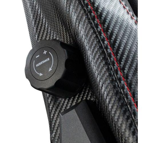Talius - Silla Konda Gaming - Negra/roja - reposapies - 4D - Frog - base metal - ruedas 75mm silicona