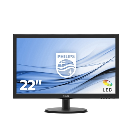 Philips V-line 223V5LHSB2 - monitor LED - Full HD (1080p) - 22