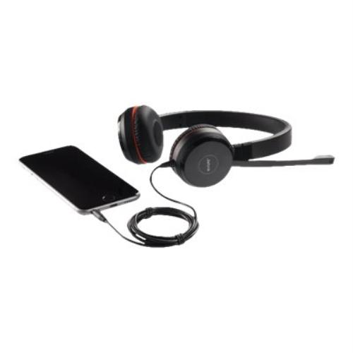 Jabra - Auriculares EVOLVE 30 II Cableado De Diadema Estéreo - Supra-aural - Cancelación de ruido - Mini-phone (3.5mm)