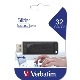 Verbatim - Pendrive 32Gb USB 2.0 Slider Drive - Negro
