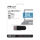 PNY - Pendrive 64Gb Attache USB 2.0 - Color Negro
